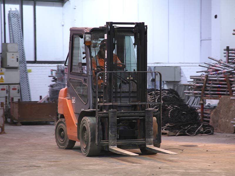 REFRESHER FORK LIFT TRUCK COURSE