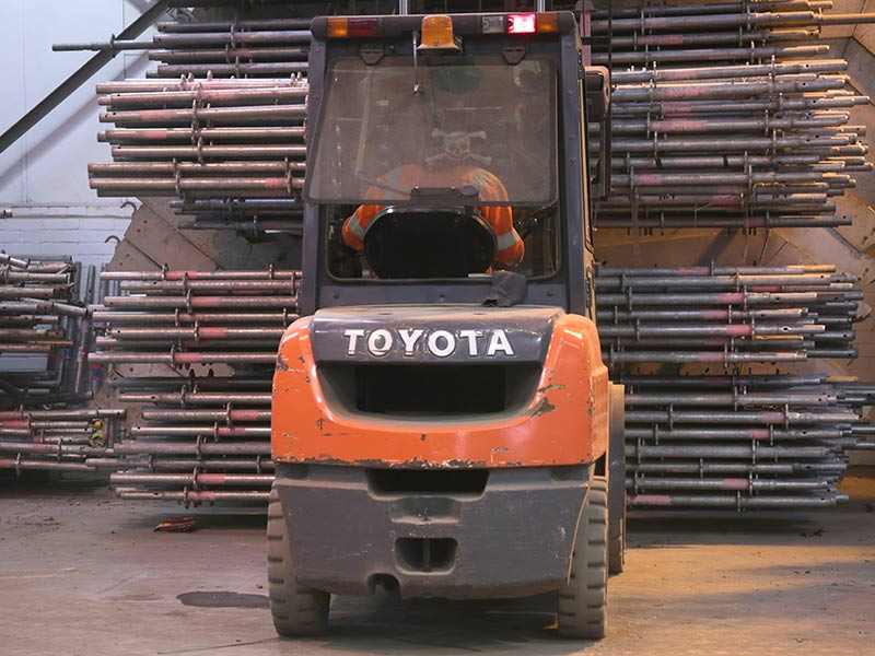 On Site Forklift Truck Training Across Cheshire And North Wales